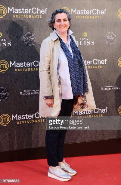 Pepa Cuenco attend 'Masterchef' Restaurant opening on June 4 2018 in Madrid Spain