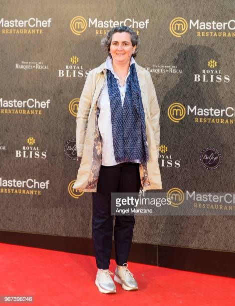 Pepa Cuenco attends 'Masterchef' Restaurant Opening on June 4 2018 in Madrid Spain