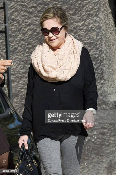 Pepa Flores celebrates her 66th birthday on January 28 2015 in Malaga Spai