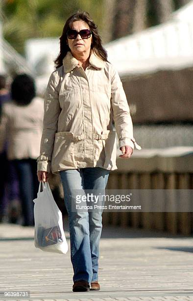 Pepa Flores is seen on February 3, 2010 in Malaga, Spain.