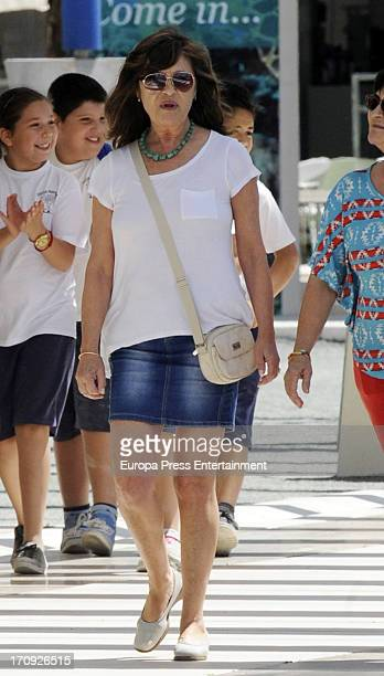 Pepa Flores is seen on May 28 2013 in Malaga Spain