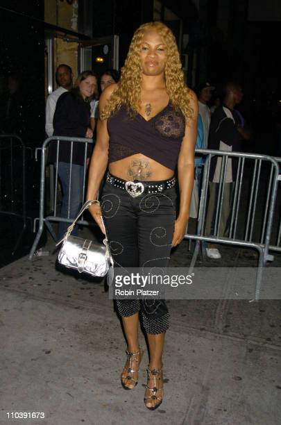 Pepa of Salt and Pepa during The Entertainment Weekly Must List Party Arrivals at Deep in New York City New York United States