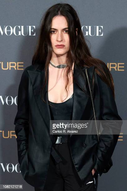 Pepa Salazar attends 'Vogue LG Signature' photocall at Carlos Maria de Castro Palace on December 13 2018 in Madrid Spain