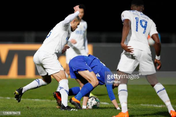 Pepe in action during the game for Liga NOS between Belenenses SAD and FC Porto, at Estdio Nacional, Lisboa, Portugal February, 2021