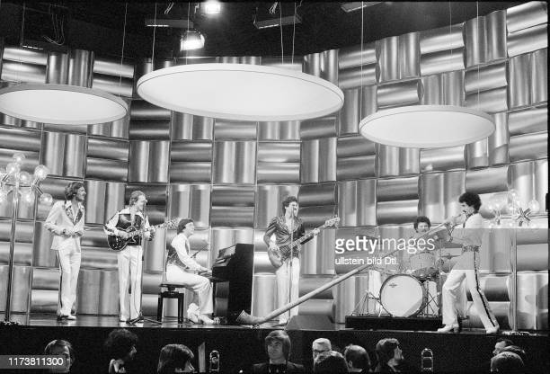 Pepe Lienhard Band last rehearsal swiss final for the European Song Contest 1977