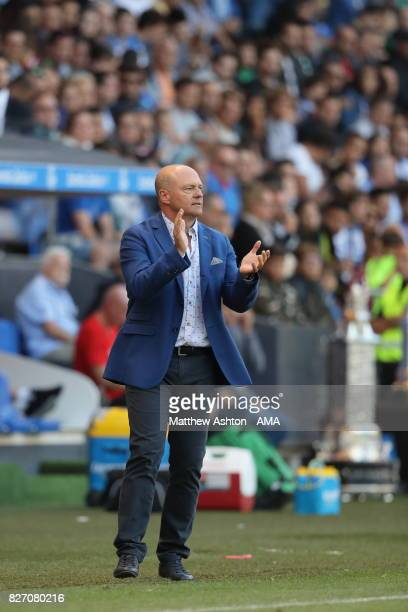 Pepe Mel the head coach / manager of Deportivo de La Coruna during the PreSeason Friendly between Deportivo de La Coruna and West Bromwich Albion on...