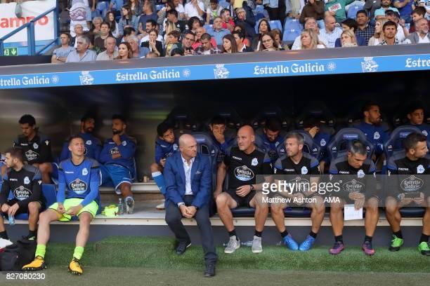 Pepe Mel the head coach / manager of Deportivo de La Coruna during the PreSeason Friendly between Deportivo de La Coruna and West Bromwich Albion on...