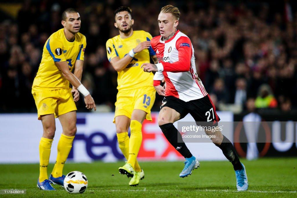 Feyenoord v FC Porto - UEFA Europa League : News Photo