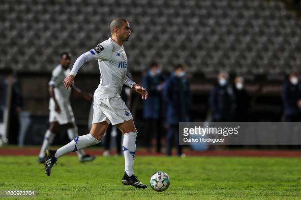 Pepe of FC Porto during the Liga NOS match between Belenenses SAD and FC Porto at on February 4, 2021 in Lisbon, Portugal.