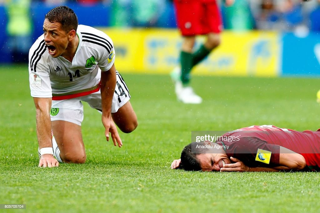 Portugal v Mexico: FIFA Confederations Cup Russia 2017 Play-Offs : News Photo