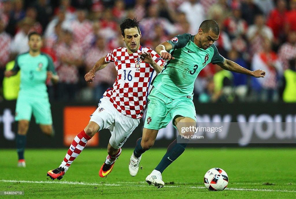 Croatia v Portugal - Round of 16: UEFA Euro 2016 : Photo d'actualité