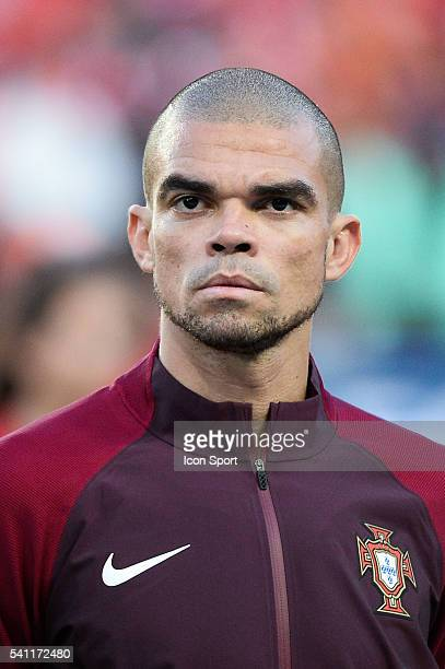Pepe of Portugal during the UEFA EURO 2016 Group F match between Portugal and Austria at Parc des Princes on June 18, 2016 in Paris, France.