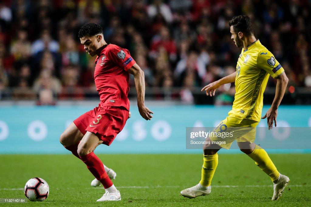 APURAMENTO EURO 2020: PORTUGAL EMPATA A ZERO FRENTE À UCRÂNIA
