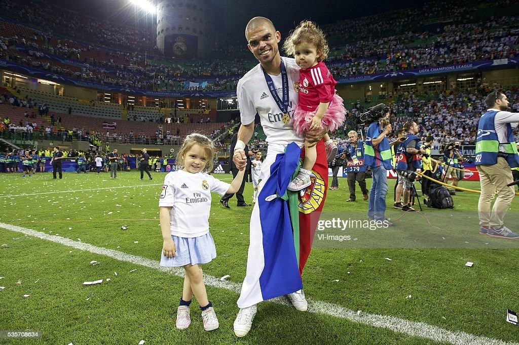 "UEFA Champions League final - ""Real Madrid v Atletico Madrid"" : Nachrichtenfoto"