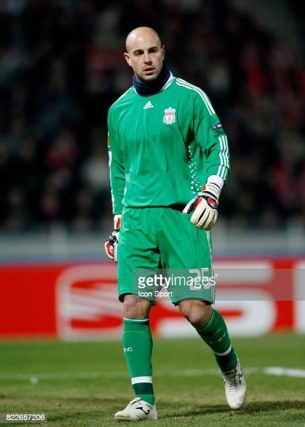 Pepe REINA Lille / Liverpool Europa League Stadium Nord Villeneuve d'Ascq