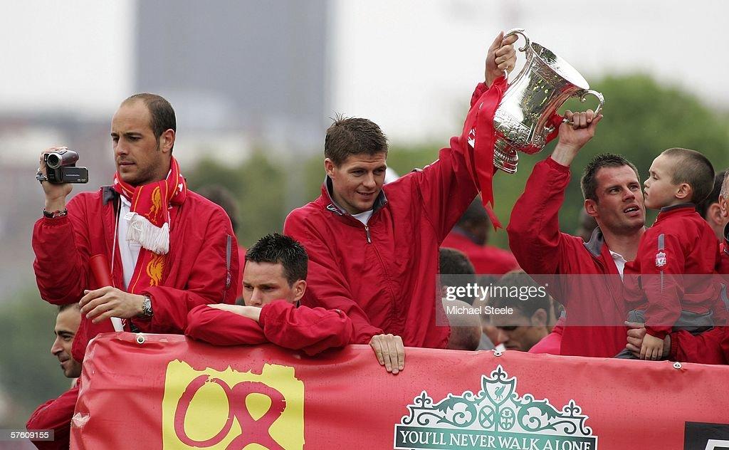 Liverpool Trophy Parade : News Photo