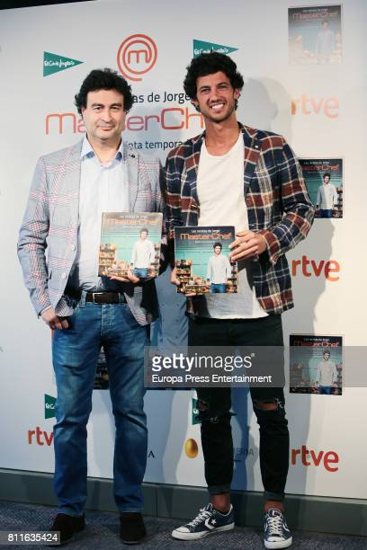 Pepe Rodriguez attend the presentation of the book 'Las recetas de Jorge' by Jorge Brazalez the winner of TV MasterChef on July 7 2017 in Madrid Spain