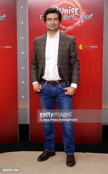 Pepe Rodriguez Rey attends the presentation of a new seson of 'Masterchef Junior' at TVE studios on December 14 2017 in Madrid Spain