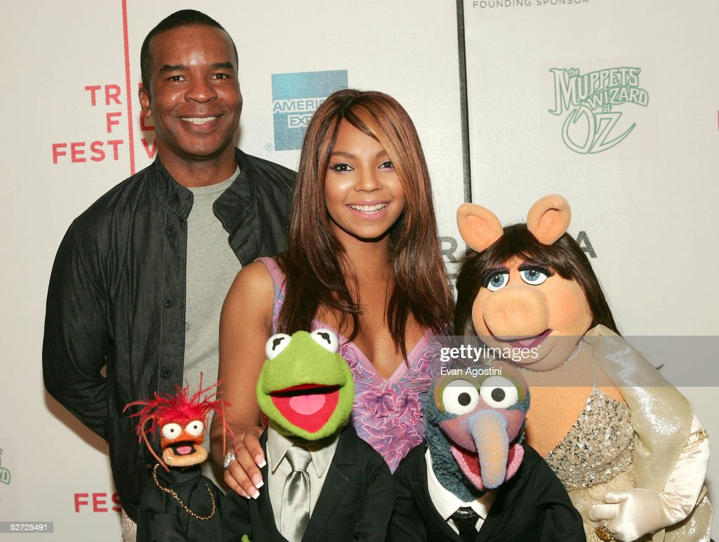 Pepe The King Prawn, actor David Allan Grier, Kermit The Frog, singer Ashanti, Gonzo and Miss Piggy attend the premiere of 'The Muppets Wizard of Oz' at the Tribeca FAMILY Festival. The FAMILY Street Fair will be this Saturday, April 30 from 10am to 6pm on Greenwich Street