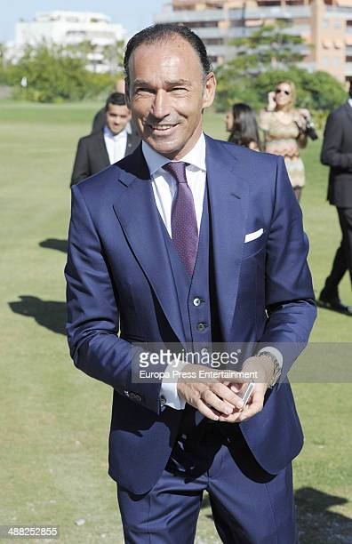 Pepin Liria attends the wedding of golfer Miguel Angel Jimenez and Susanna Styblo get Miguel Angel Jimenez Golf Club on May 3 2014 in Torremolinos...