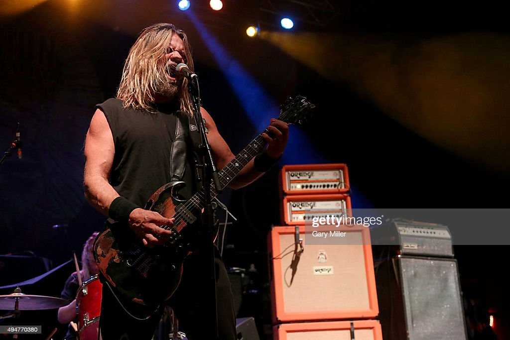 Pepper Keenan of Corrosion of Conformity performs in concert at the Austin Music Hall on October 28, 2015 in Austin, Texas.