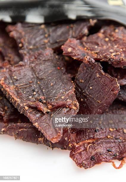 Gepfefferte Beef Jerky (Trockenfleisch)