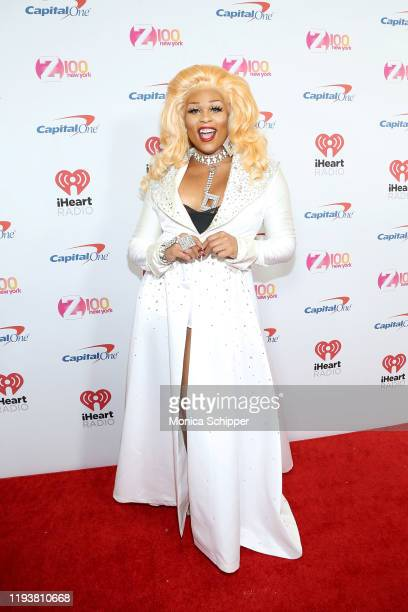 Peppermint arrives at iHeartRadio's Z100 Jingle Ball 2019 at Madison Square Garden on December 13, 2019 in New York City.