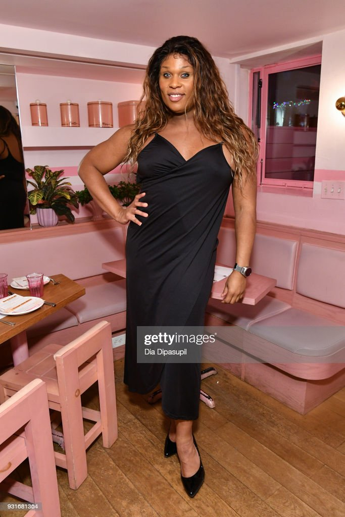 Peppermint attends the Trans Awareness Dinner at Pietro Nolita on March 13, 2018 in New York City.
