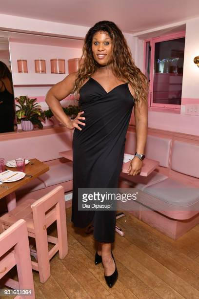 Peppermint attends the Trans Awareness Dinner at Pietro Nolita on March 13 2018 in New York City