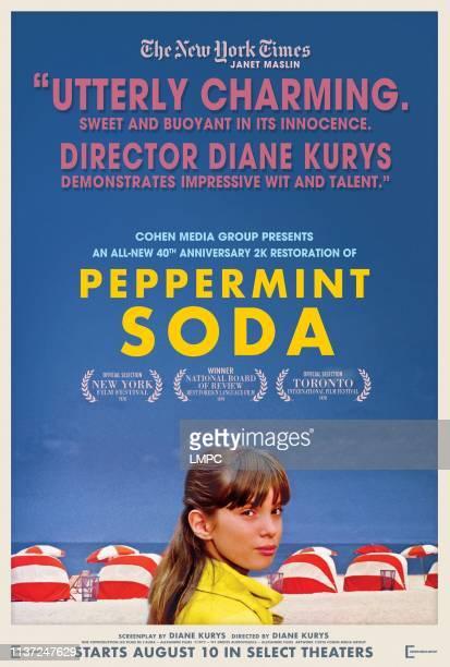 Peppermint Soda poster US poster for 2018 rerelease Eleonore Klarwein 1977