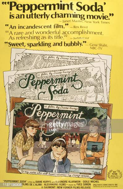 Peppermint Soda poster US poster from left Valerie Stano Odile Michel Eleonore Klarwein 1977