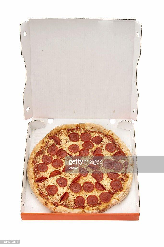 Pepperoni & Cheese - 01 : Stock Photo