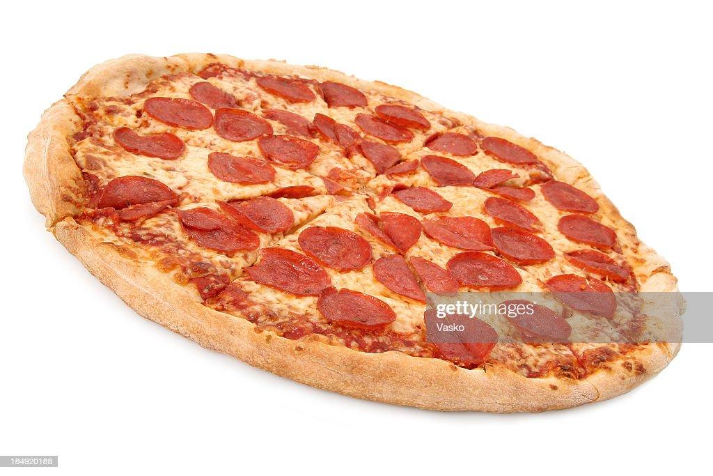 Pepperoni & Cheese - 02 : Stock Photo