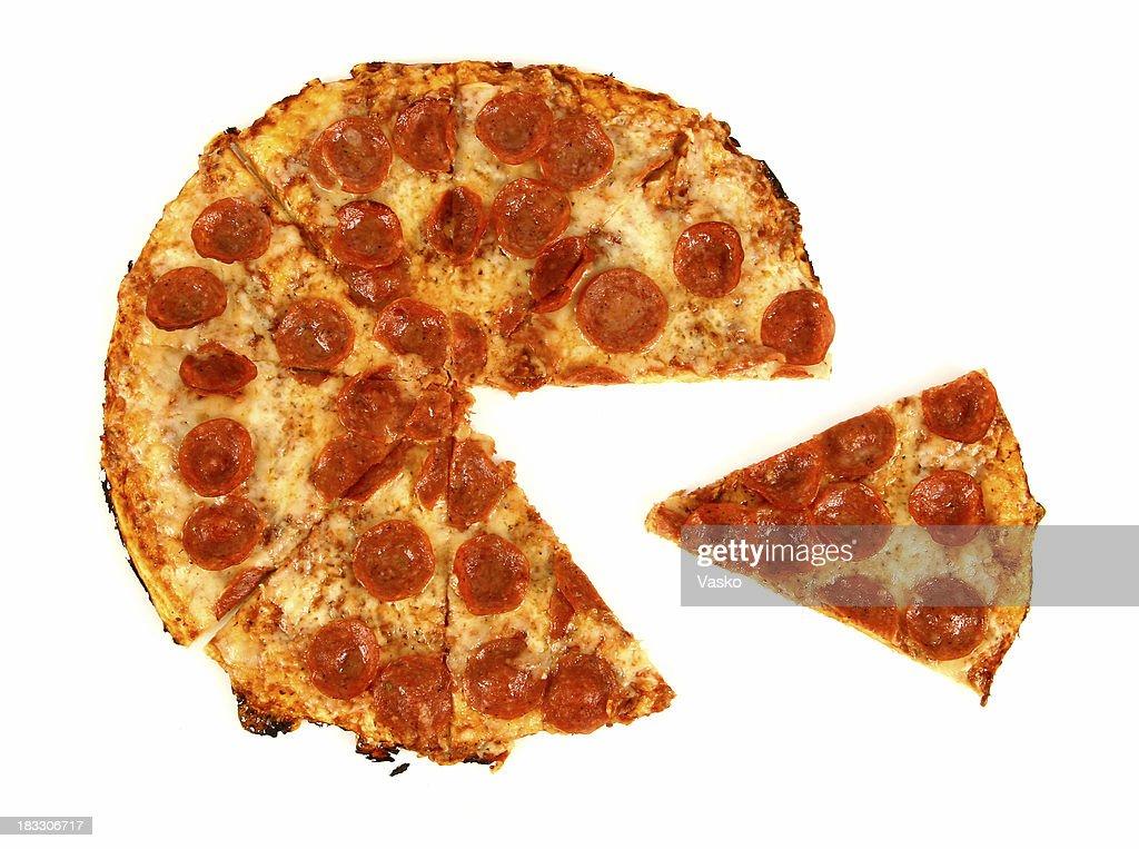 Pepperoni & Cheese2 - 01 : Stock Photo