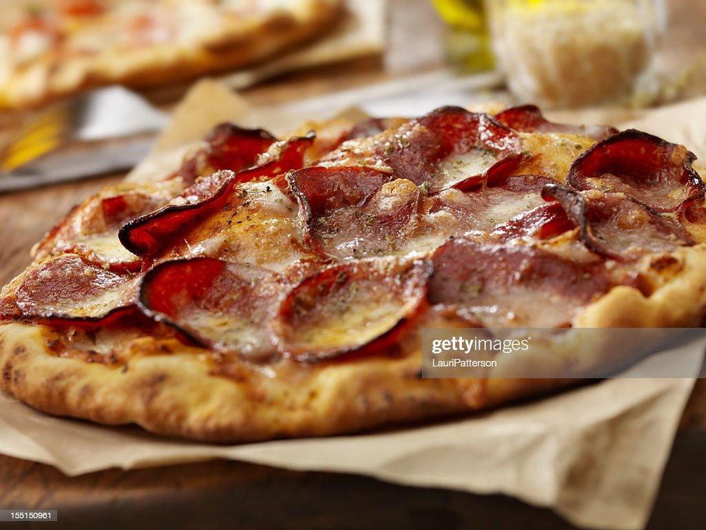 Pepperoni Pizza : Stock Photo