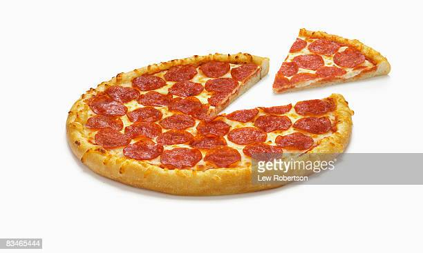 Pepperoni Pizza with Slice
