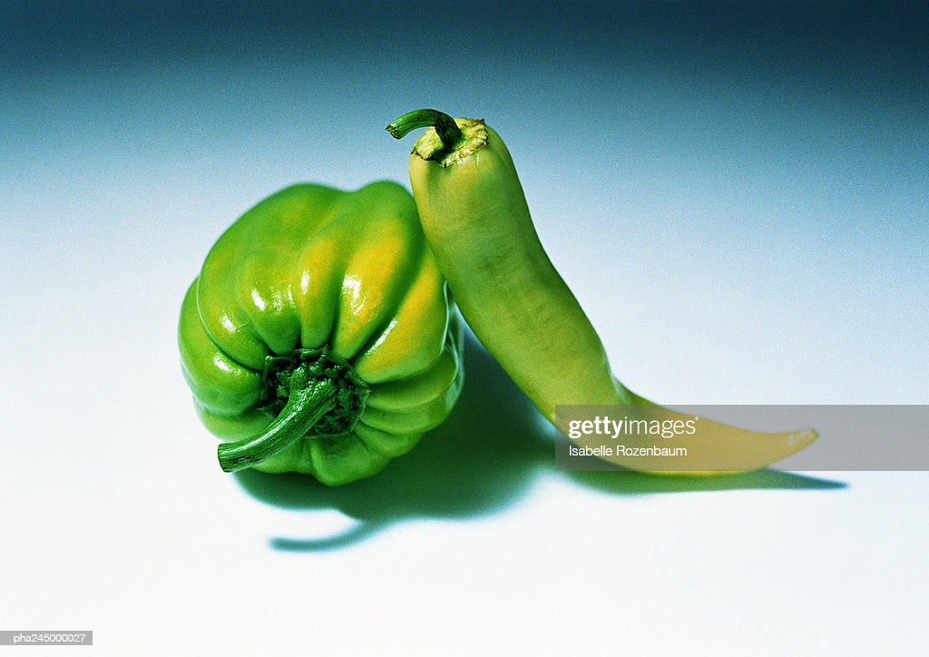 Peppers, close-up : Stockfoto