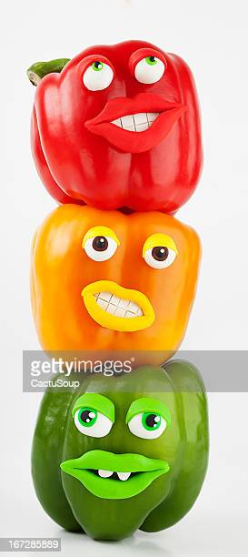 Peppers Portrait