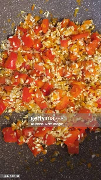 Peppers Risotto