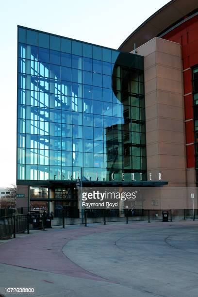 Pepsi Center, home of the Denver Nuggets basketball team, Colorado Avalanche hockey team and Colorado Mammoth Lacrosse team in Denver, Colorado on...