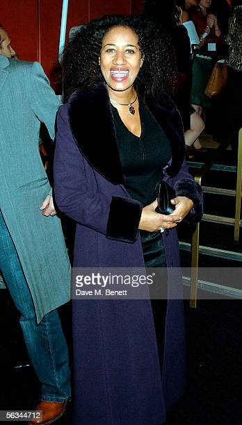 """Pepsi Demacque arrives at the VIP preview screening of """"A Different Story"""", a documentary based on singer George Michael's life, at the Curzon..."""