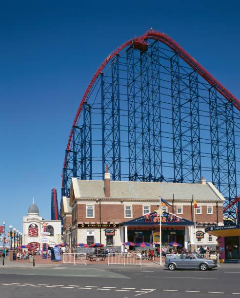 Pepsi Max Big One Roller Coaster at Pleasure Beach