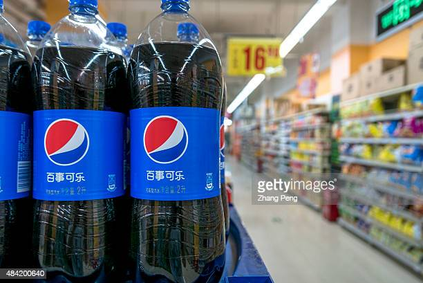 Pepsi products in a Chinese supermarket Coke companies are suffering large decline in consumption of sugary sodas as consumers worry about obesity...