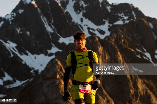 Per Bjelkmar at The Arctic Triple Lofoten Ultra on June 3 2017 in Svolvar Norway The Arctic Triple Lofoten Ultra is the second of three races The...