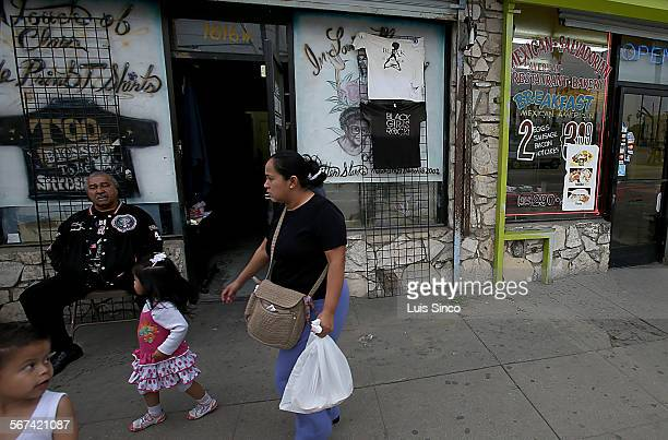 Per capita, the Chesterfield Square neighborhood in South Los Angeles leads the city in violent and property crimes. The area once was predominanlty...