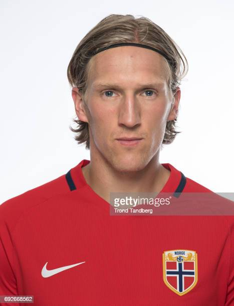 Per Egil Flo of Norway National Team during Photocall at Ullevaal Stadion on June 5 2017 in Oslo Norway