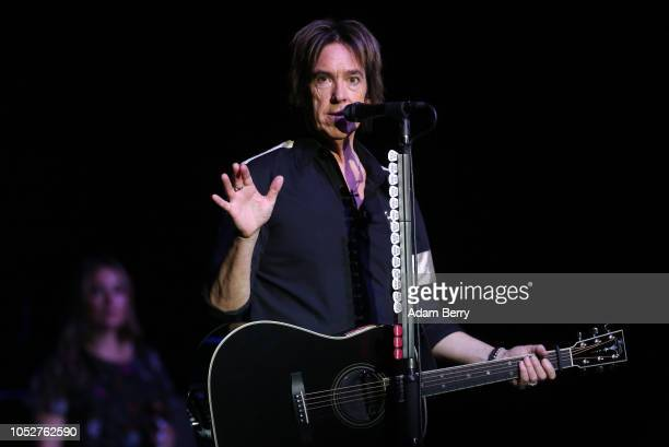 Per Gessle of Roxette performs during a concert at Admiralspalast on October 22, 2018 in Berlin, Germany.
