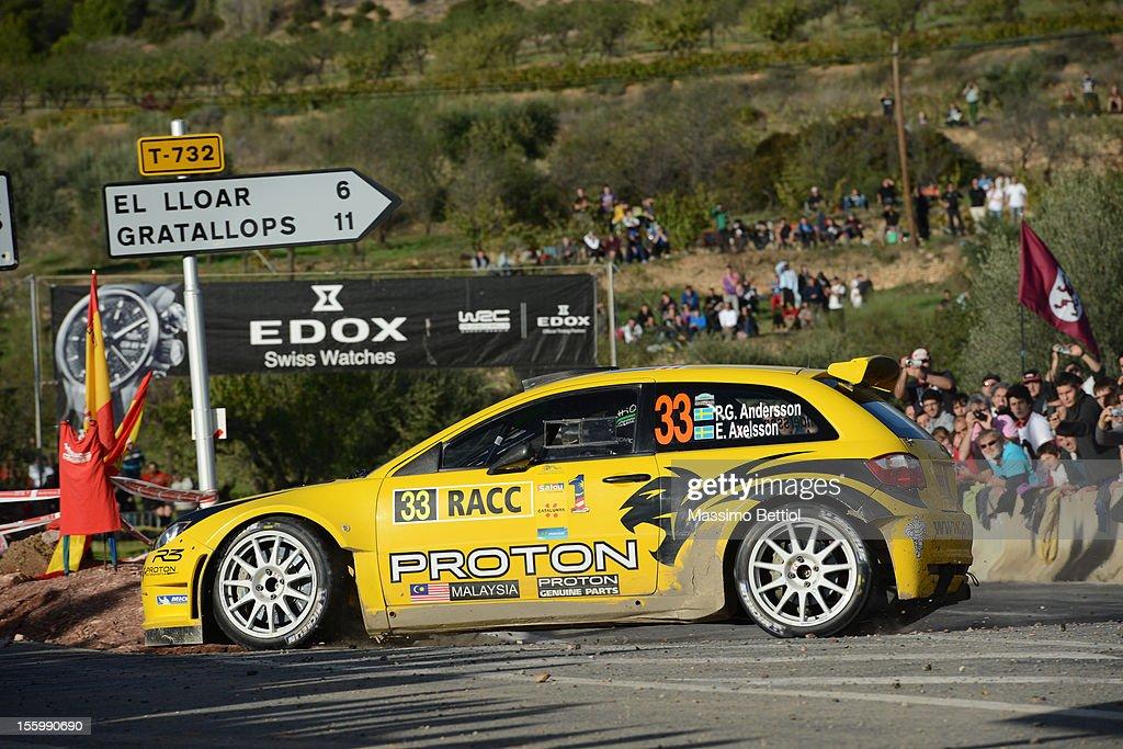 FIA World Rally Championship Spain - Day Two : News Photo