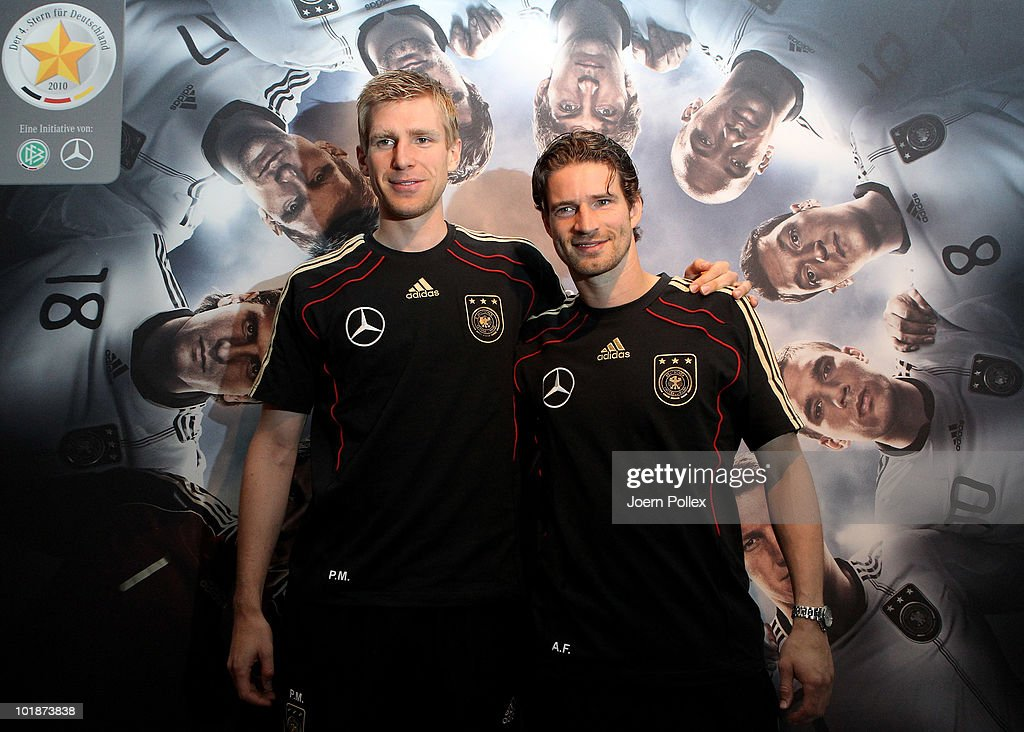 Germany Training & Press Conference - 2010 FIFA World Cup