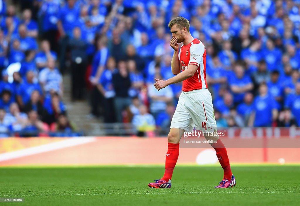 Arsenal v Reading - FA Cup Semi-Final : News Photo